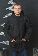 Куртка мужская удлиненная зима