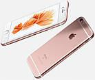 Cмартфон Apple iPhone 6s 16GB Rose Gold Оригинал Neverlock Гарантия 6 мес+стекло и чехол, фото 4