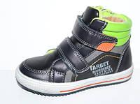Ботинки, высокие кроссовки демисезонные мальчику р.27-32 TM Y.Top
