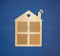 Домик рамка для фотографий заготовка для декора