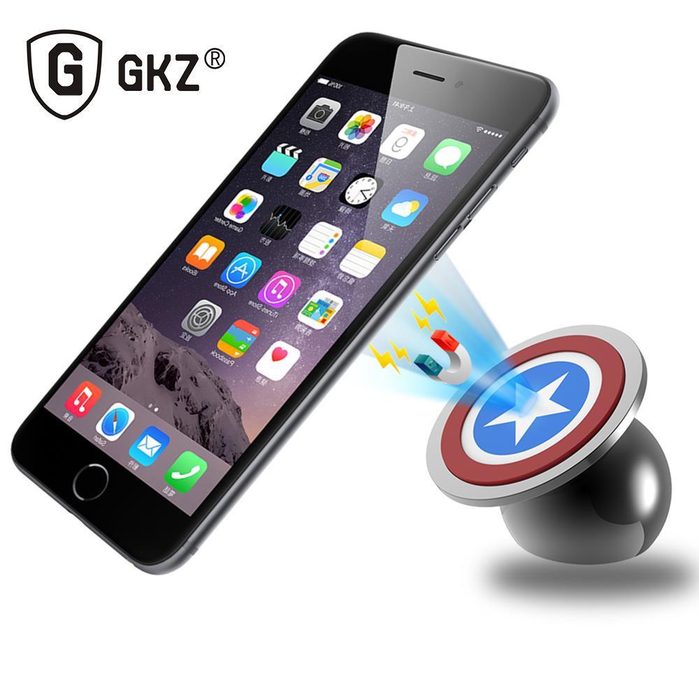 GKZ (BRKT) - Автомобильный магнитный держатель для телефона и планшета