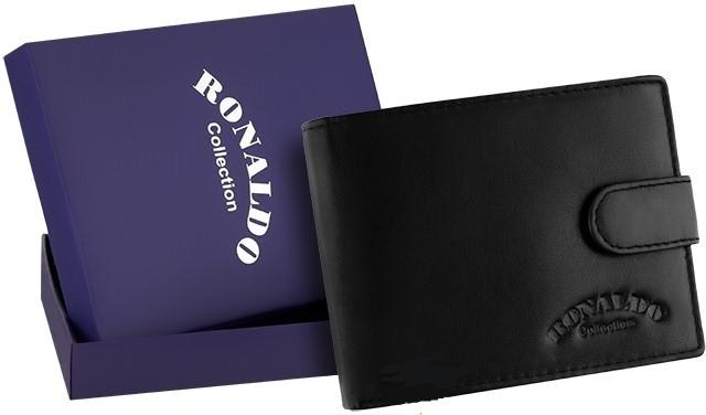 Чоловічий шкіряний гаманець бренд Ronaldo NEW 2020