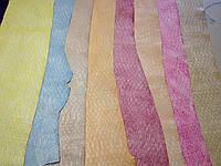 Распродажа. Кожа КРС Питон, разные цвета., фото 1