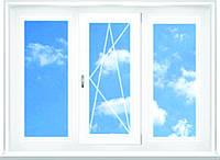 Окно 1800x1400 / 3кам. трехстворчатое (стандартное в комнату)