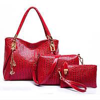 3 в 1 Набор женских сумок CC6693