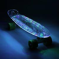 """Penny 22"""" Candy LED Clear Прозрачный пенни с свет. доской, фото 1"""