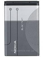 Аккумуляторная батарея (Replacement Battery 3.7V 700 mAh) BL-5C для моделей сотовых телефонов NOKIA