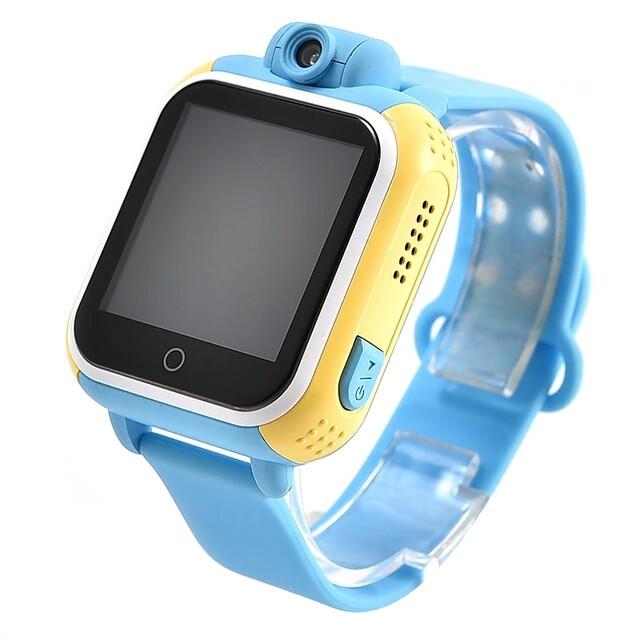 Детские часы телефон Q200 Smart baby Watch TD-07 голубой