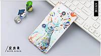 Оригинальный чехол панель накладка для Meizu M3e с картинкой олень красками, фото 1