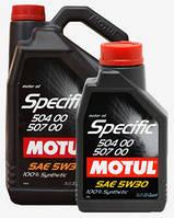 Моторное масло Motul SPEC 504-507 5W30 1L, МАСЛО, 838711