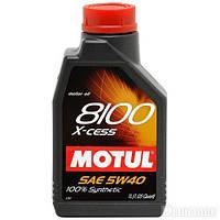 Моторное масло Motul 8100 X-cess 5W40 1L, МАСЛО, 368201