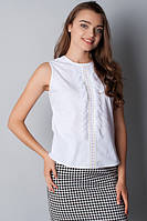 Блузка-майка с вышивкой Р107