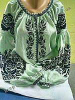 Блуза женская с вышивкой БЖ 851-16/09