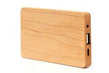 Эксклюзивный деревянный портативный аккумулятор Maple\Клён