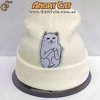 """Креативна шапка - """"Bad Cat"""", фото 1"""