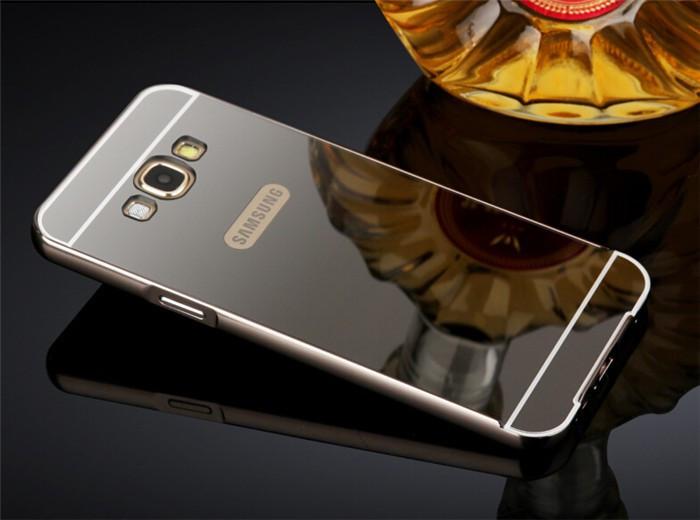 Алюминиевый чехол бампер для Samsung Galaxy A5/A500H (2015 год)