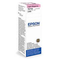 Оригинальные Чернила для Epson L800 Light Magenta (Светло Красный) (C13T67364A)