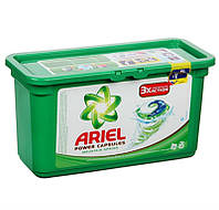 Капсулы для стирки Ariel Power Capsules Touch of Lenor Fresh,30 шт (Франция)
