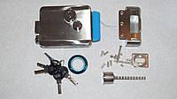 Накладной универсальный электромеханический замок - двусторонний пластиковый ключ AX093