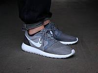 Кроссовки мужские Nike Roshe Run Hyperfuse QS Grey