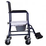 Кресло-каталка с санитарным оснащением MOD JBS OSD-MOD-JBS367A, фото 3