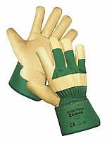 """Теплая комбинированная перчатка """"410"""""""