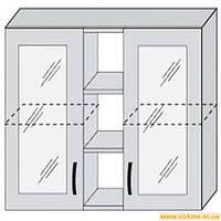 Кухня  Марта ДСП  100 В витрина  модуль