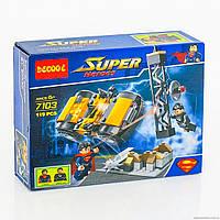 """Конструктор Decool Super Heroes аналог (LEGO Super Heroes) """"Схватка в Метрополисе"""""""