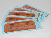 Хирургическая нить MONOFAST 3/0 USP 75 см, колюще-режущая игла 26 мм 1/2
