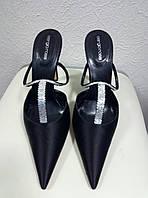 Туфли черные SERGIO ROSSI, 40р.