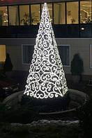 Светодиодная новогодняя ёлка  вензелями, фото 1