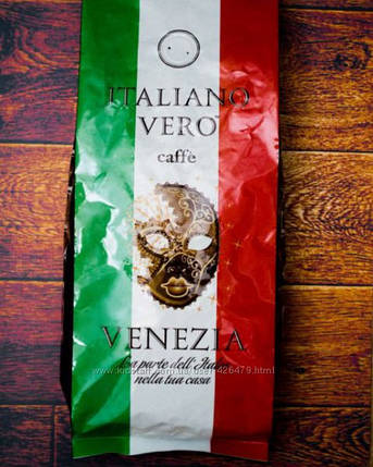Зерновой кофе ITALIANO VERO Venezia 1кг, фото 2