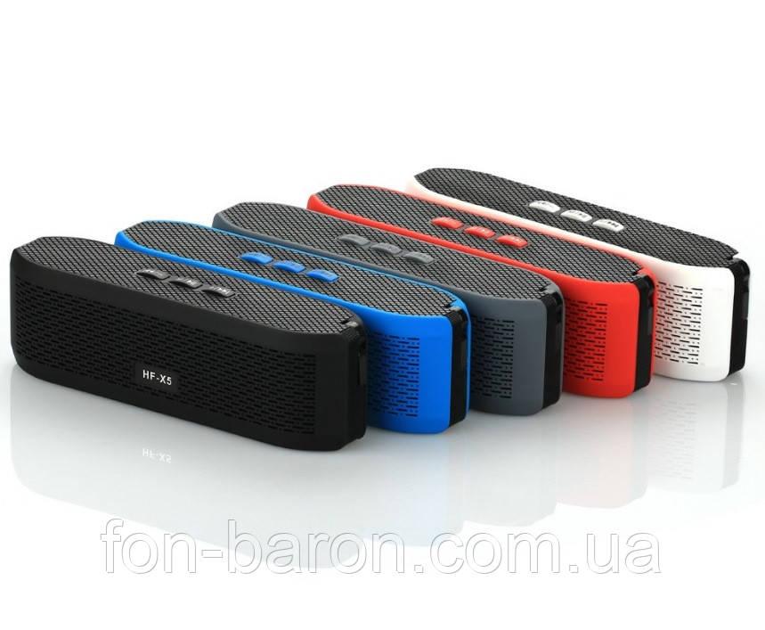 Портативна Bluetooth колонка HF-X5 зі світломузикою - фото 3