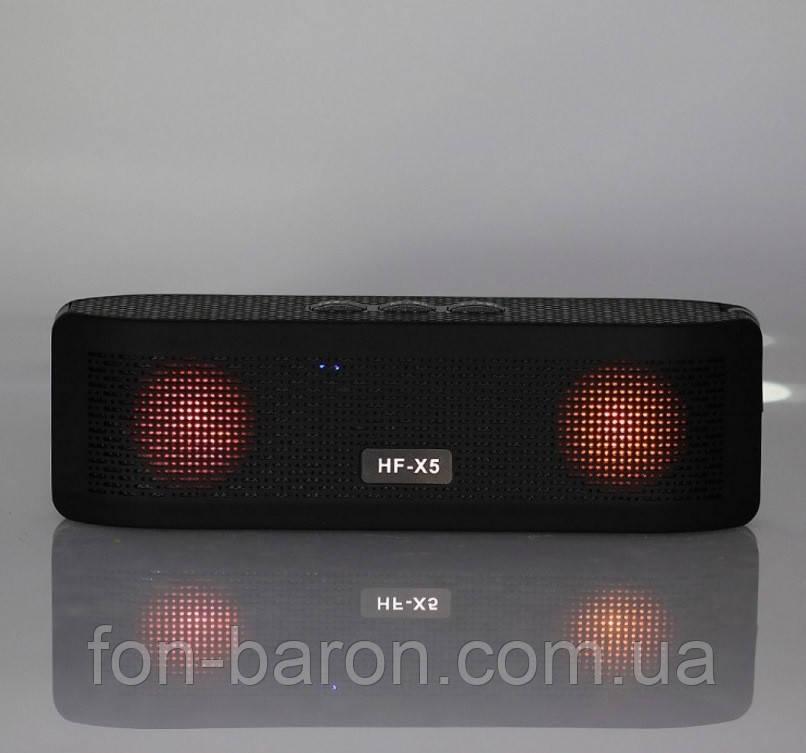 Портативна Bluetooth колонка HF-X5 зі світломузикою - фото 6