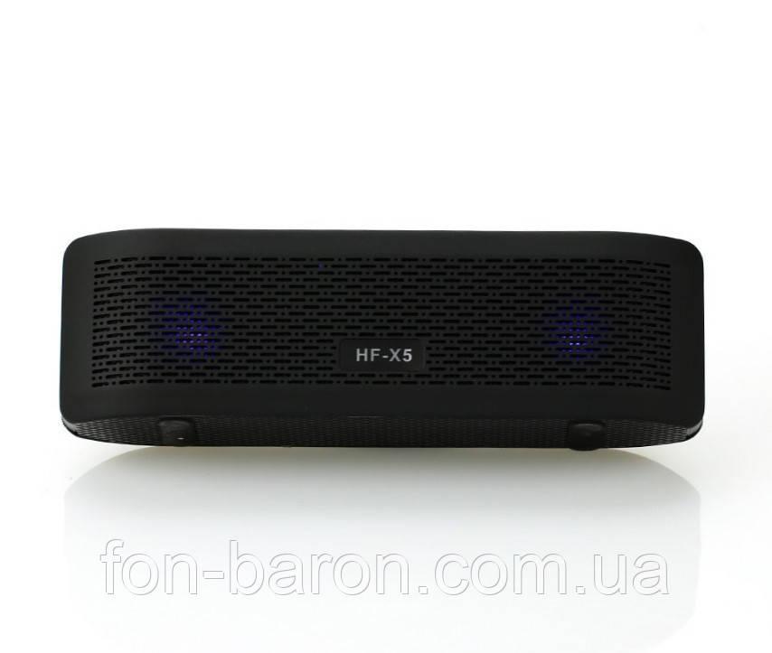 Портативна Bluetooth колонка HF-X5 зі світломузикою - фото 7
