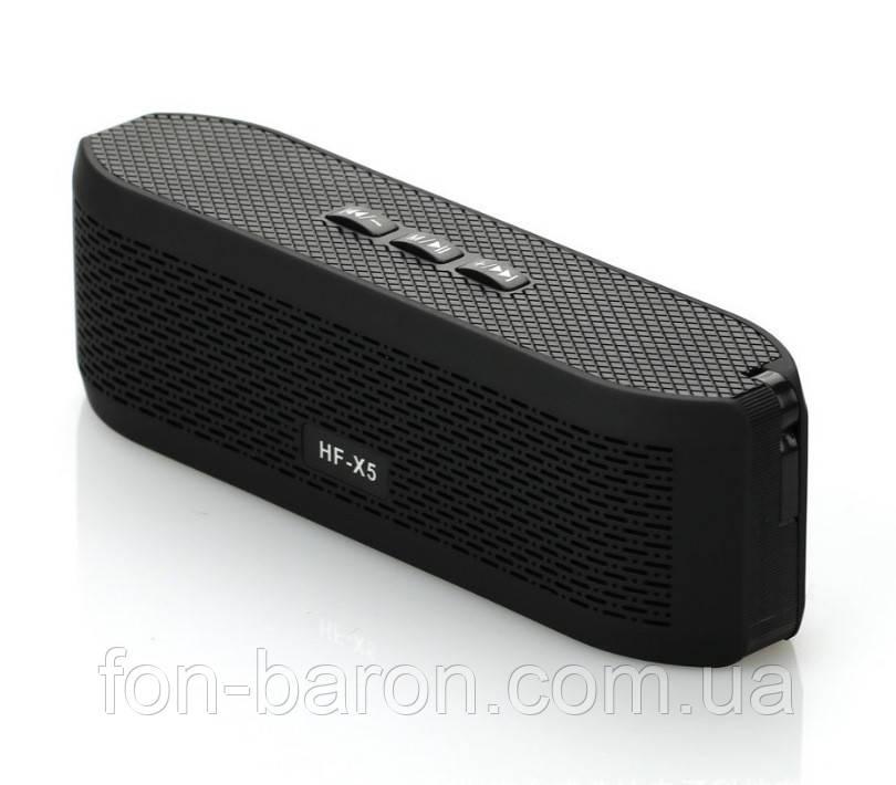 Портативна Bluetooth колонка HF-X5 зі світломузикою - фото 8