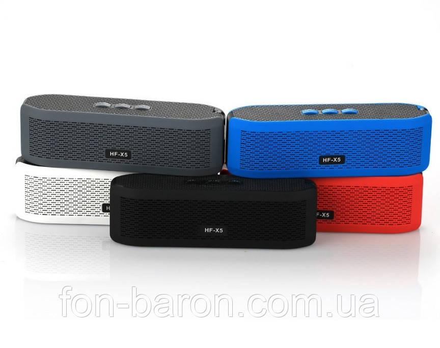 Портативна Bluetooth колонка HF-X5 зі світломузикою - фото 2