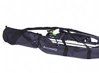 Чехол для лыж Uno 155 серый ТЭ-А020 TravelExtreme
