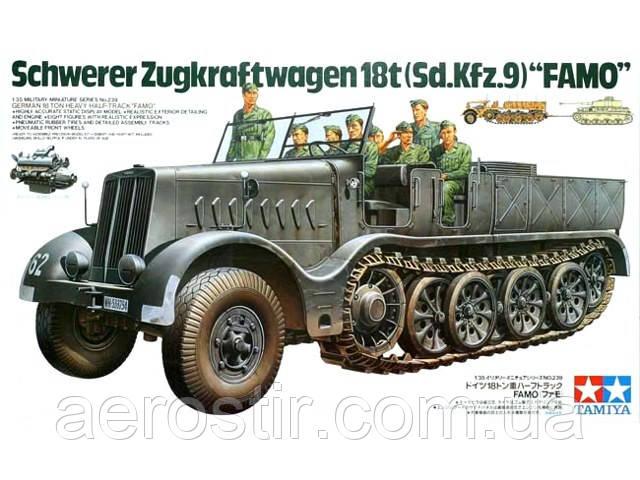 Schwerer Zegkraftwagen 18t [Sd.Kfz.9] 'FAMO' 1/35 TAMIYA 35239