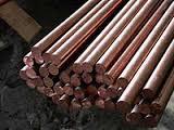 Пруток бронзовый БрАЖ9-4 Ф 16, 18, 20, 22, 25  порезка доставка купить цена