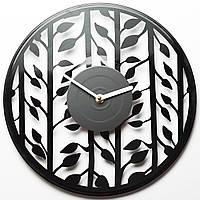 Часы виниловые Leaves