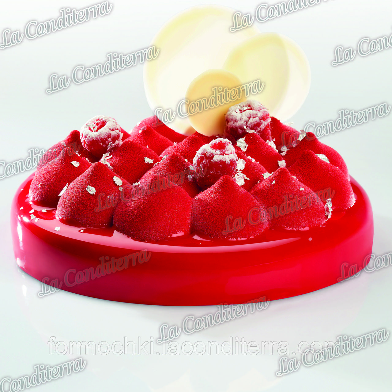 Силиконовая форма для десертов PAVONI KE029 (1000 мл)