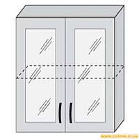 Кухня  Марта ДСП  80 В витрина  модуль