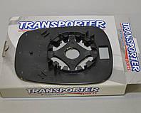Стекло зеркала (R/L), без подогрева на Renault Kangoo 2003->2008 Transporterparts (Франция) - 03.0050