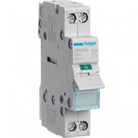 Выключатель нагрузки 2 полюса 25А 230W SBN225 Hager