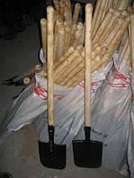 Большая саперная лопата с черенком, фото 1