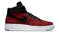 Кроссовки Nike Air Force 1 Ultra Flyknit High Red