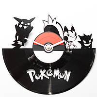 Часы виниловые Pokemon