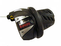 Манетка Shimano Tourney SL-RS36 Revoshift права 6 скорости (SIS) черный