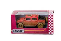 "Машина КТ 5097 WY ""Hummer H2 SUT Muddy"", ""KINSMART"""